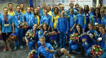 Украинские спортсмены