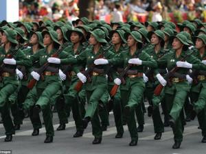 Вьетнамская армия большой боевой опыт
