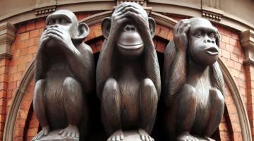 """Три мудрые обезьяны"""
