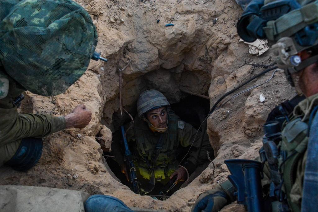 Израильские солдаты в секторе Газа