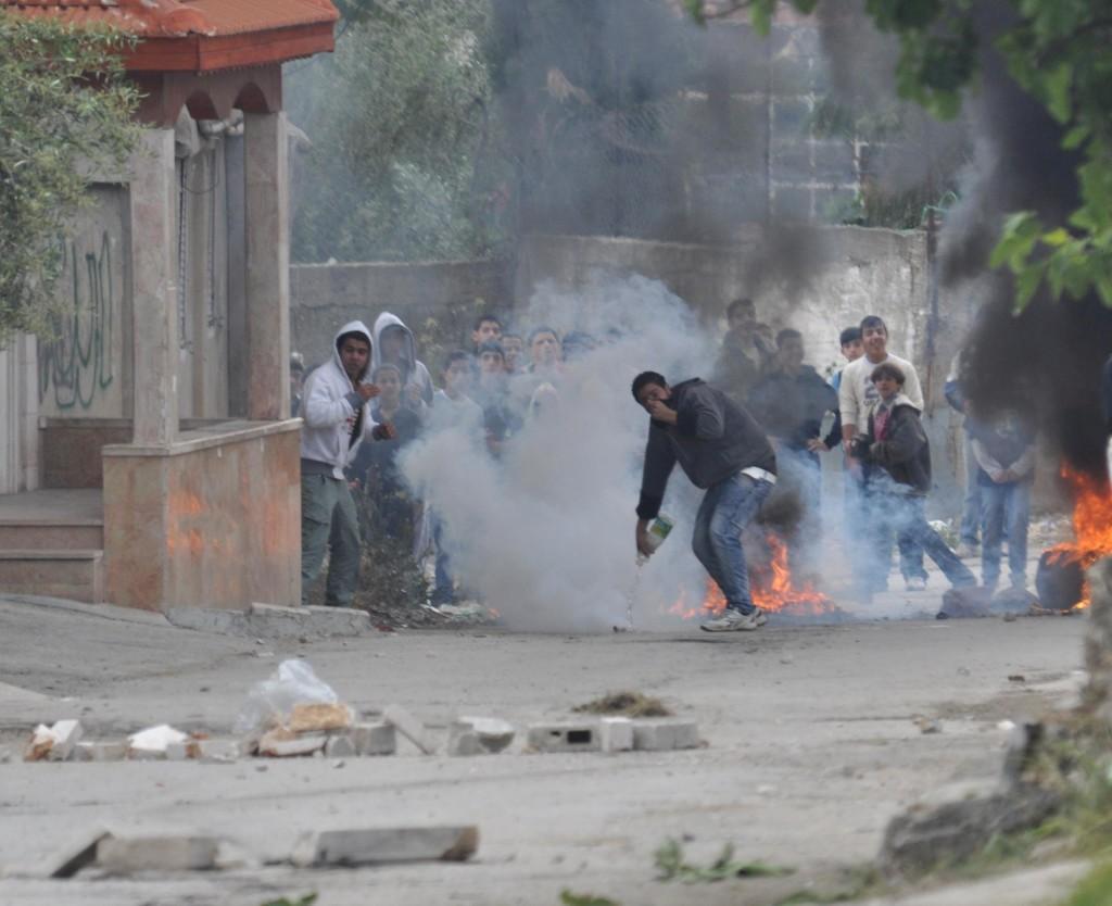 Протесты палестинцев