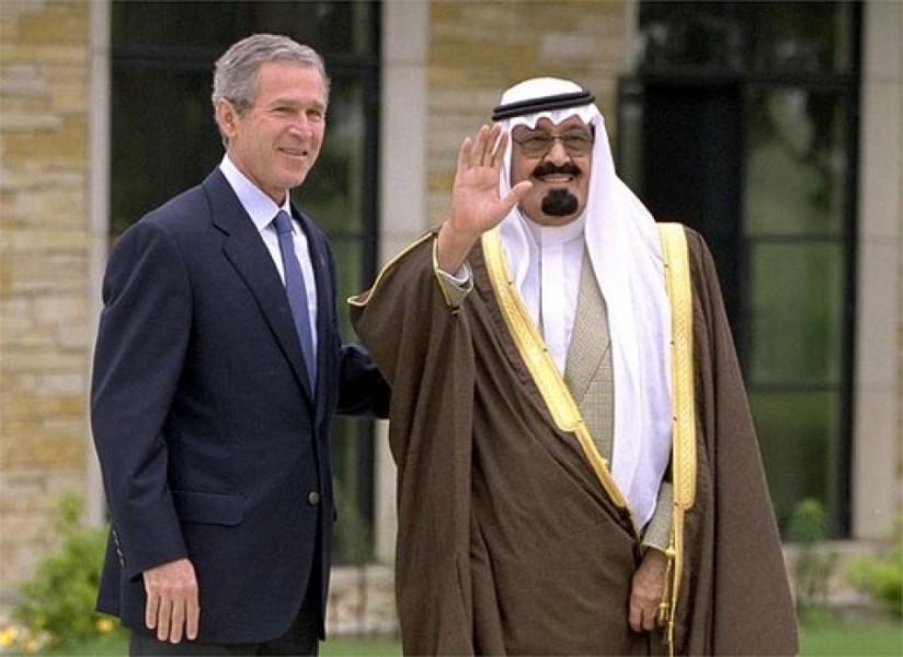 Джордж Буш и Абдалла