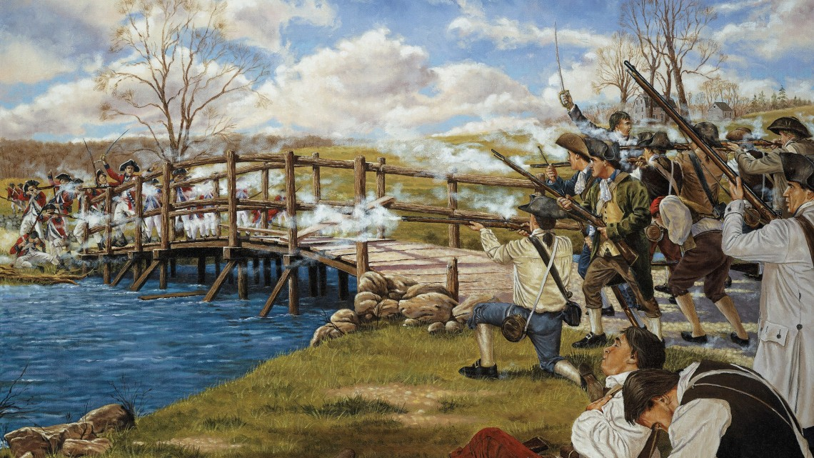 Мост над рекой Конкорд