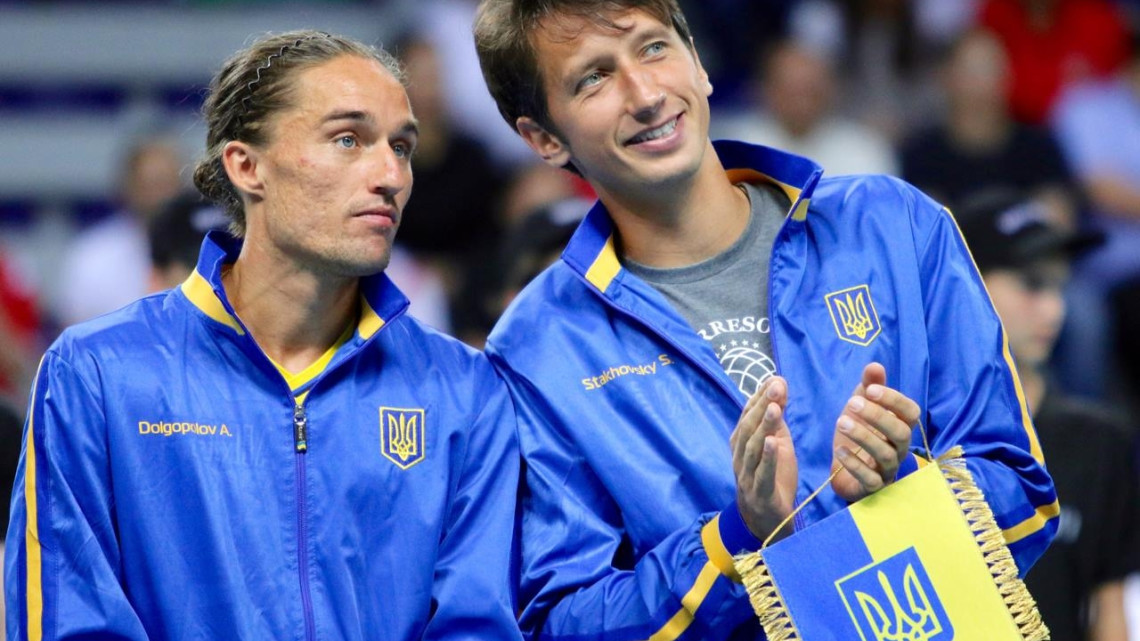 Александр Долгополов (слева) и Сергей Стаховский – надежды Украины на Уимблдоне