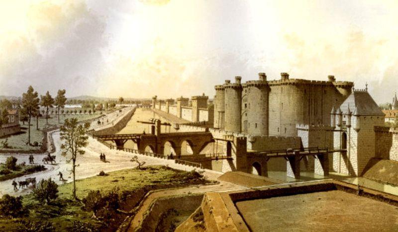 Общий вид Бастилии