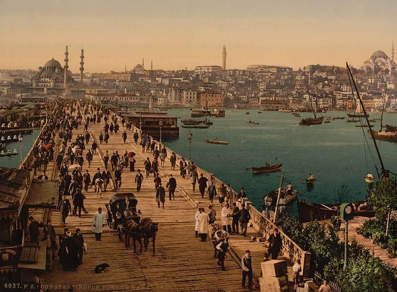 мост в Константинополе