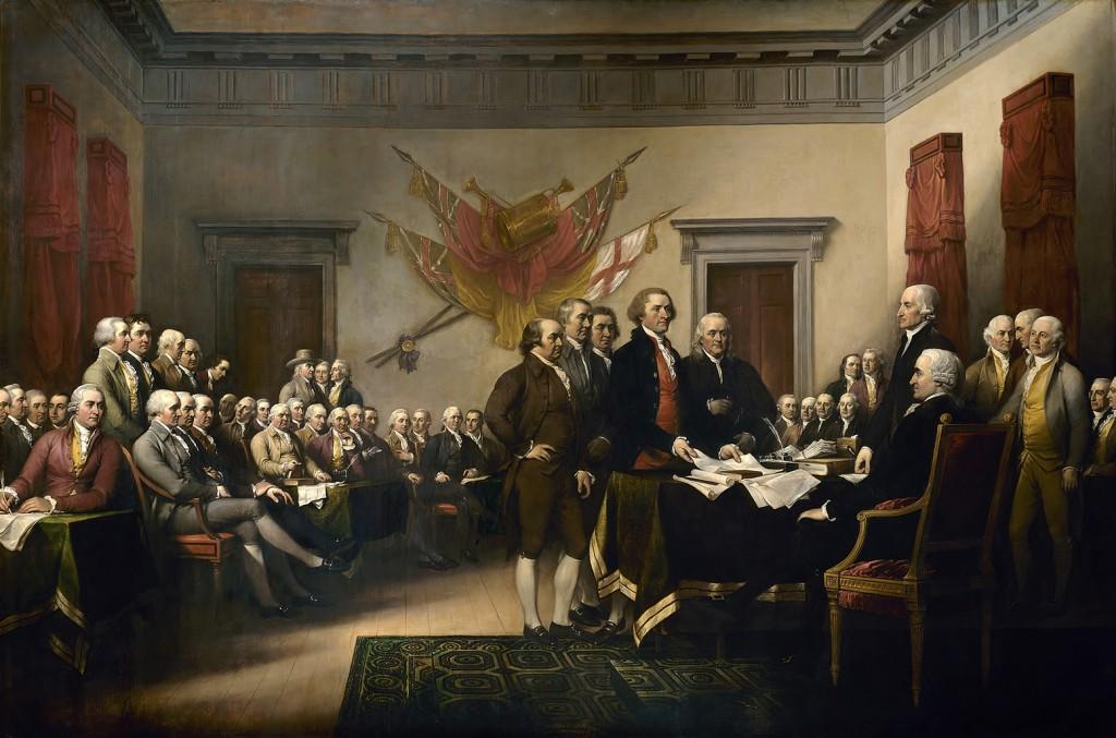 принятие Декларации независимости