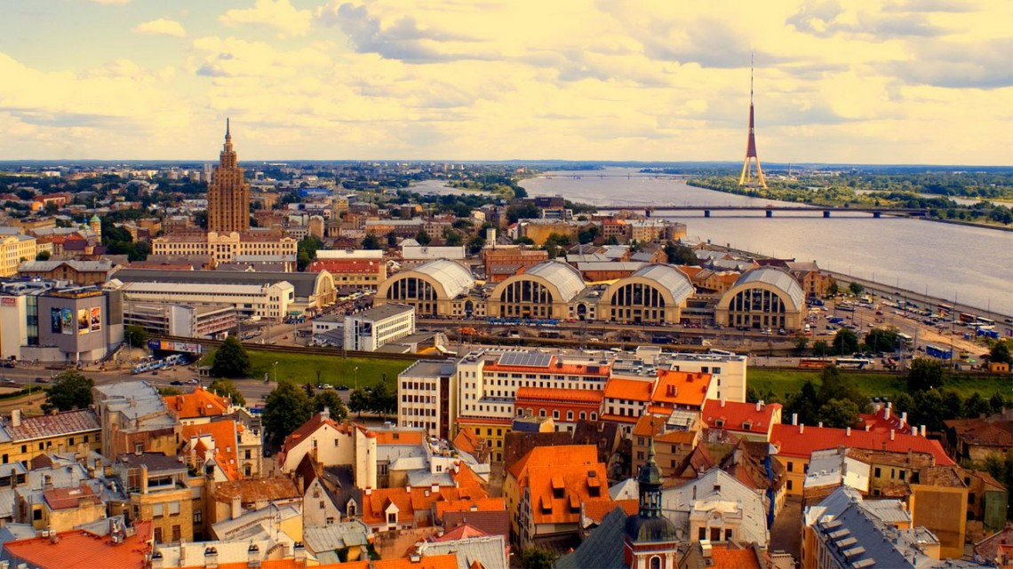 Рига — столица Латвии