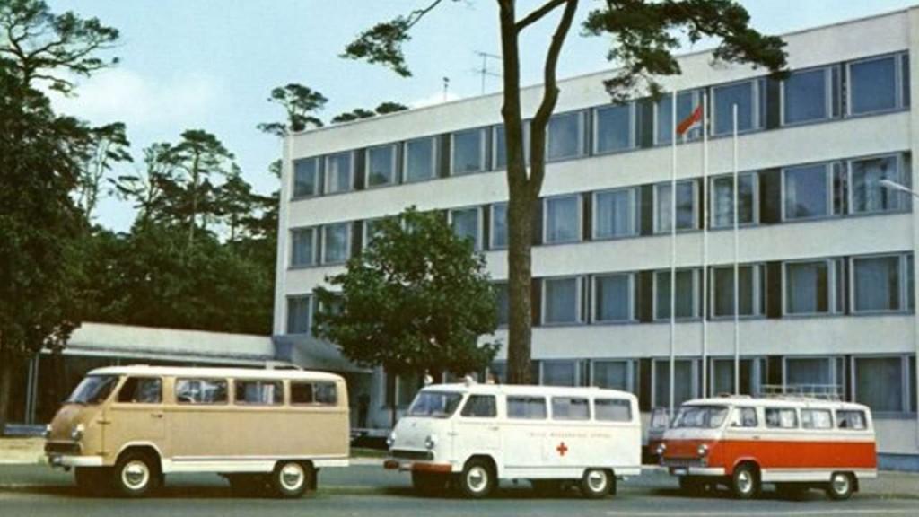 Микроавтобусы РАФ-977