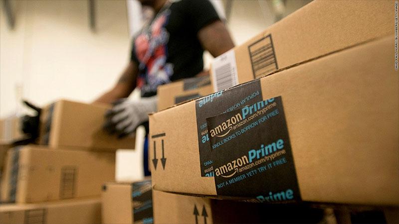 Склады Amazon Prime
