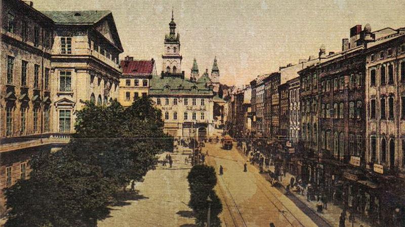 Старый ЛьвовПлощадь Рынок во Львове