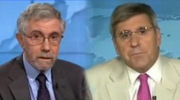 Дебаты Пола Кругмана и Стивена Мура, советника Трампа