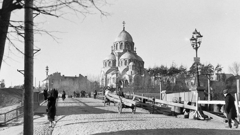Мост в Жверинас (Вильнюсе), 1934 г.