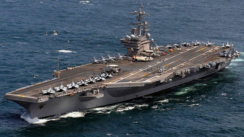 Американский авианосец «USS George H. W. Bush»