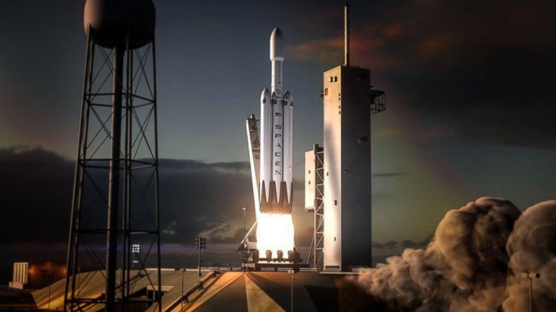 Илон Маск – Space X