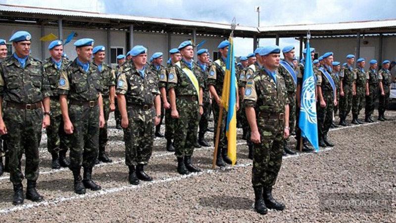 Лучшие войска Украины несут мир