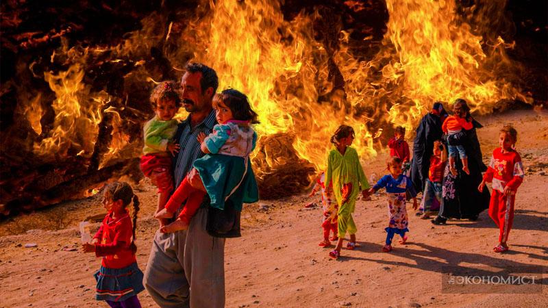 Второй месяц в огне – битва за Мосул