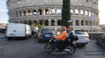 Скутерино – новый перевозчик завоевывает Рим