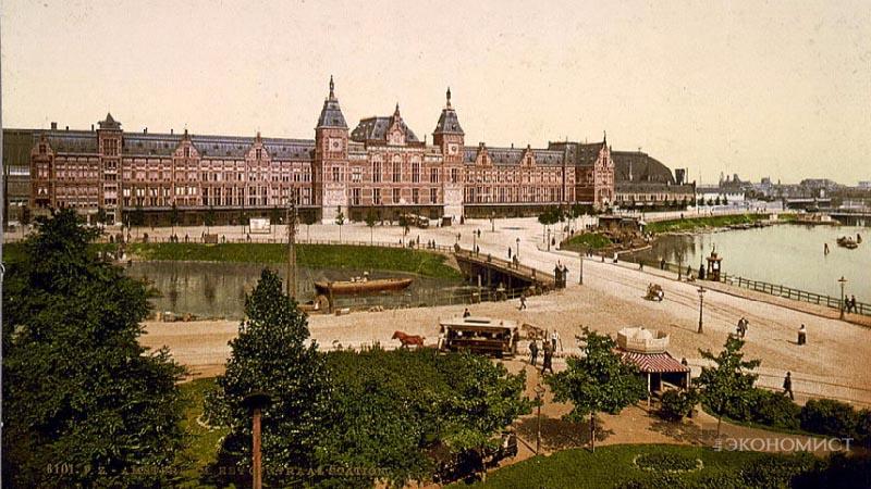 Центральный железнодорожный вокзал Амстердама