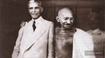 Мухаммад Али Джинна и Мохандас Ганди