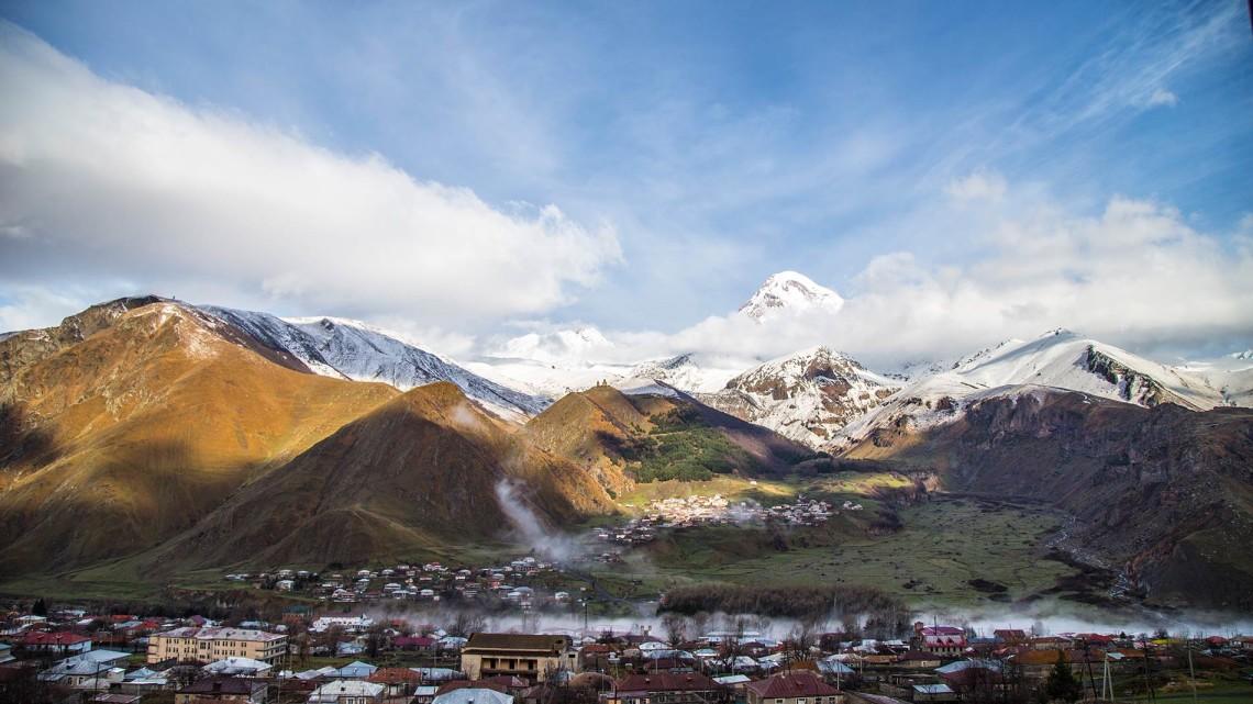 Казбеги — климатобальнеологическая курортная местность в Грузии