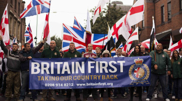 Митинг Britain First
