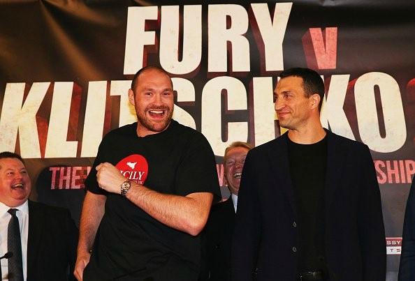 Фьюри и Кличко