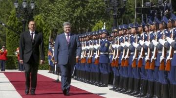 Визит президента Порошенко в Баку