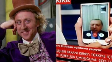 Вилли Вонка и Эрдоган