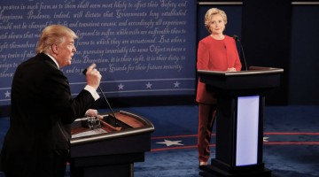 Дебаты: Трамп и Клинтон