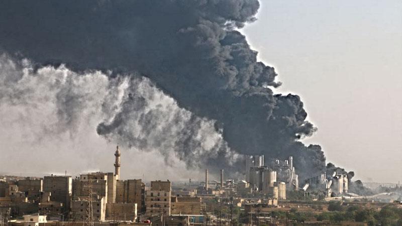 Дым Алеппо ест глаза в Вашингтоне