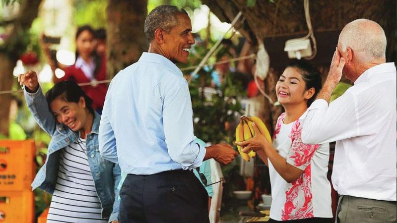 Обама в Лаосе