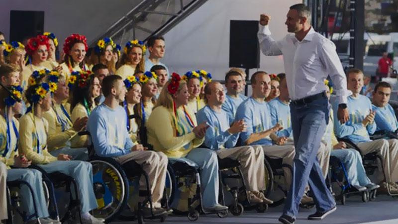 Мэр Киева Виталий Кличко мысленно с нашими Паралимпийцами