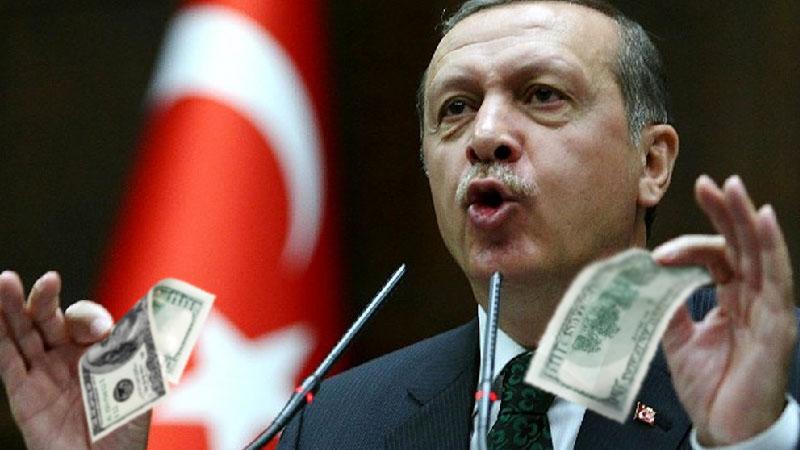Эрдоган объявил войну американскому доллару