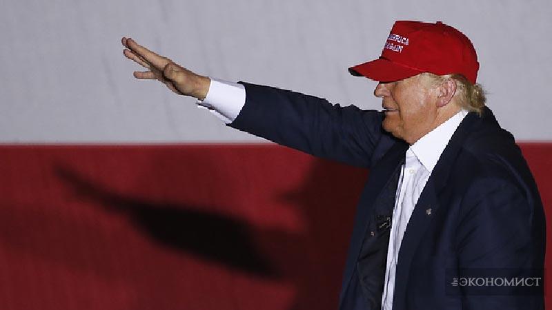 Трамп шагает по Европе