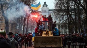 Майдан – последние мирные дни