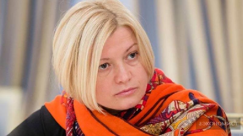 Ирина Геращенко в Дамаске
