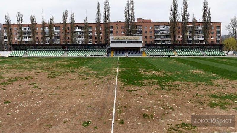 Желтая трава, как жертва украинскому футболу