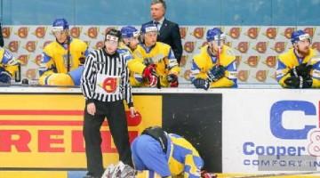 Сборная Украины по хоккею проиграла домашний чемпионат