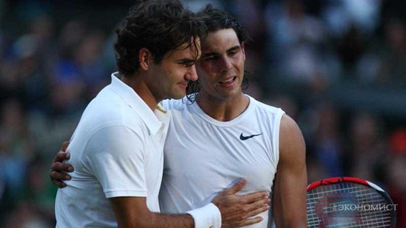 Федерер и Надаль