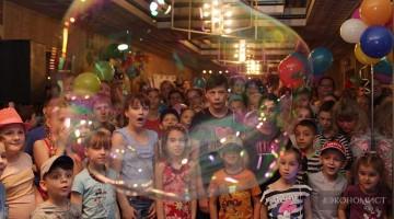 Благотворительный фонд «РАЗУМНАЯ СИЛА» подарила детям праздник