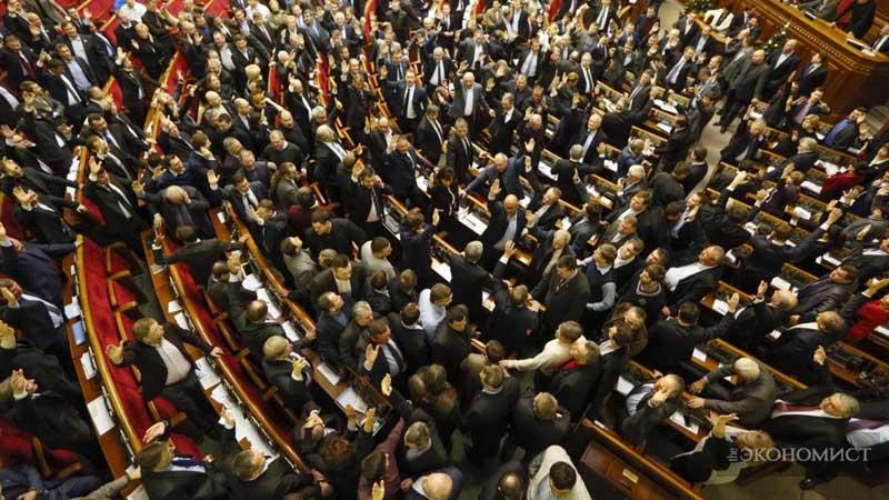Наш парламент уничтожит страну