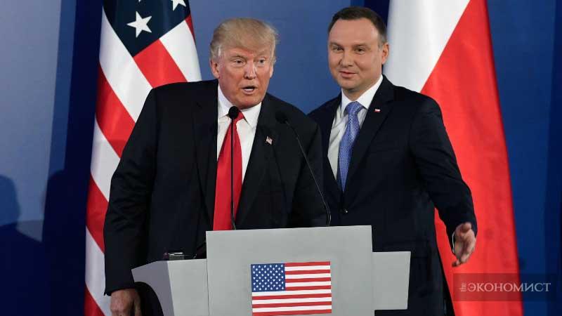 Коммерция США в политике Европы