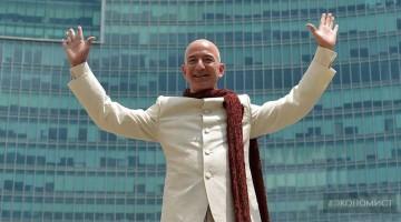 Amazon всемогущий. Безос богатющий