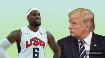 Спортивная Америка против Дональда Трампа
