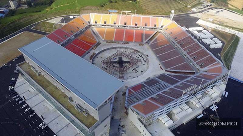 Огнем и стадионом