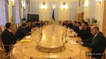 В Киеве в помещении Верховной Рады Украины прошло заседание группы по межпарламентскому сотрудничеству Грузии и Украины