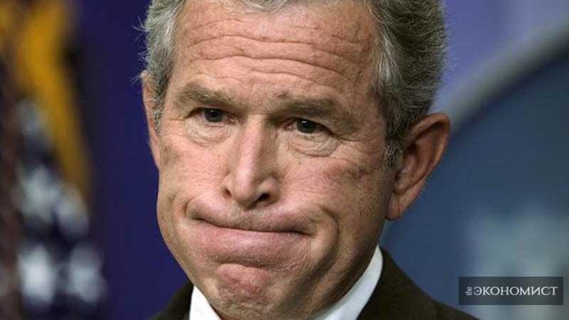 Черный юмор в стиле Буша: главный политический тренд