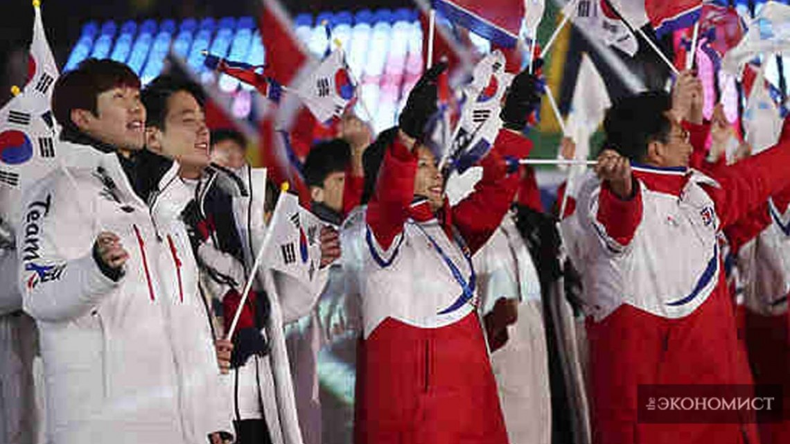 Олимпиада сближает даже Кореи