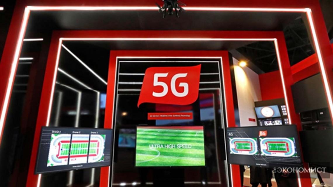 Китайские предприятия становятся лидерами в разработке сети 5G
